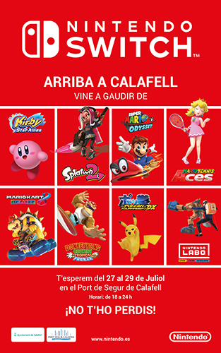 CARTELL NINTENDO Switch