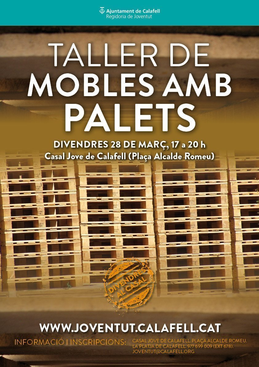 Cartell Mobles Palets DC 2014