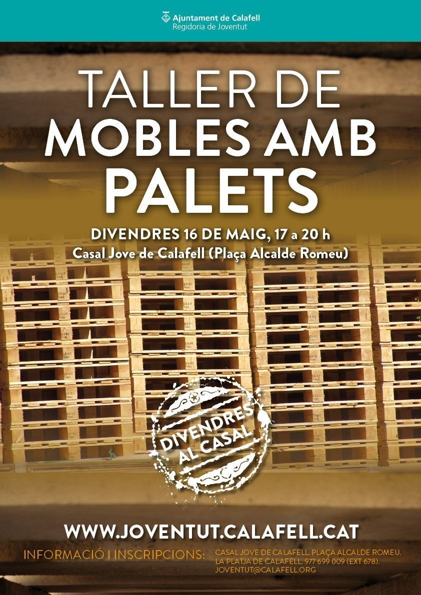Cartell Mobles Palets DC MAIG 2014